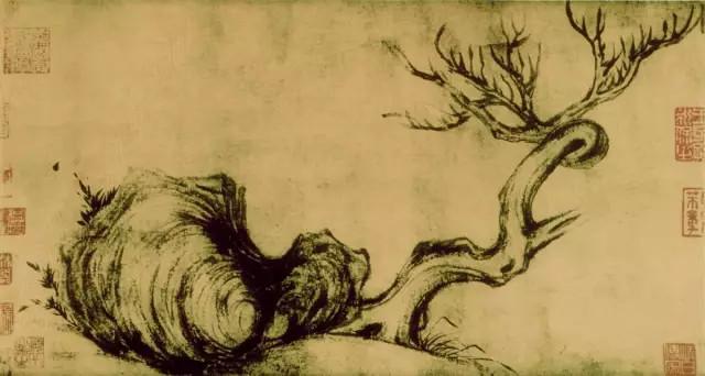 苏轼《枯木竹石图卷》