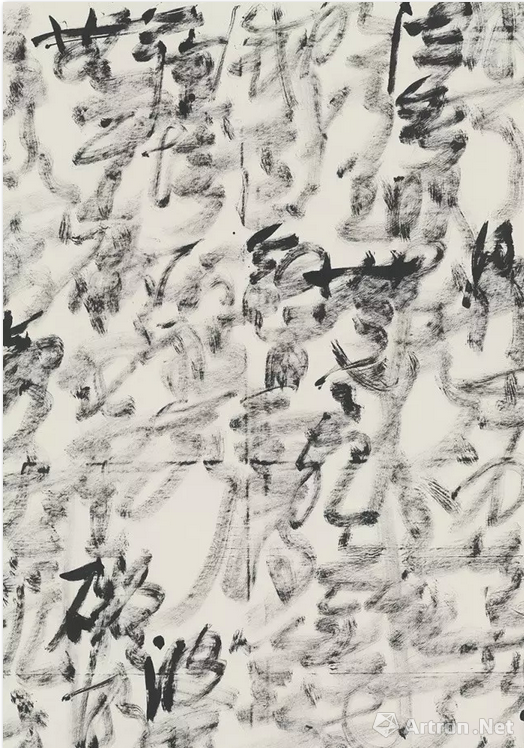 《心经》(局部) 365x144cmx3 2015