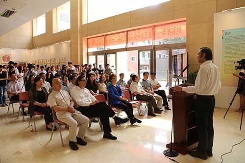中国艺术研究院研究生院举办二十四节气主题艺术展