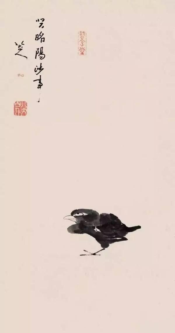 为什么八大山人画鸟常常是一只脚?