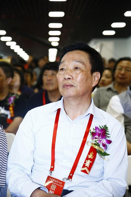 中华社会文化发展基金会总策划师冯乃华参加开幕式