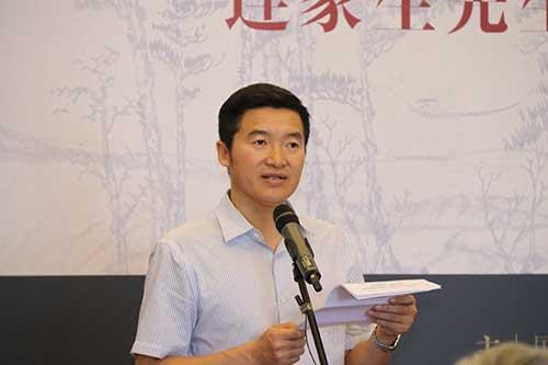 国家典籍博物馆常务副馆长李虹霖先生致辞。