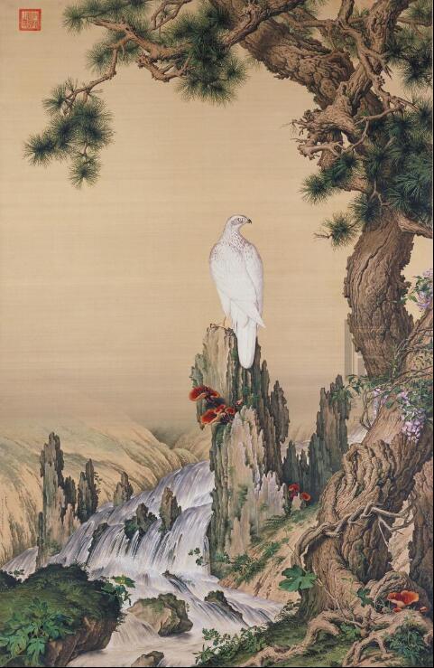 """""""中西合璧""""之美 意大利画家郎世宁的中国画欣赏"""