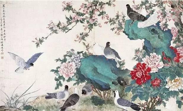 """中国工笔花鸟画,如何体现""""细节""""注重写实?"""