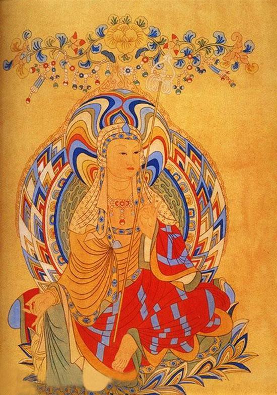 盛唐地藏王菩萨像
