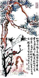 """""""岁寒三友"""",刘海粟一家的绘画精神"""