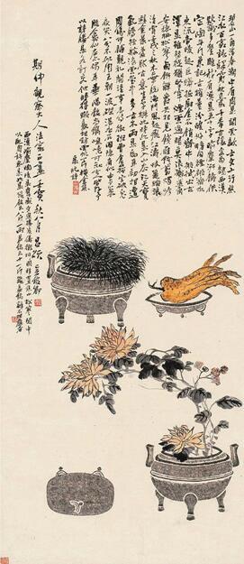 中国画创作中笔墨结构的两度神化