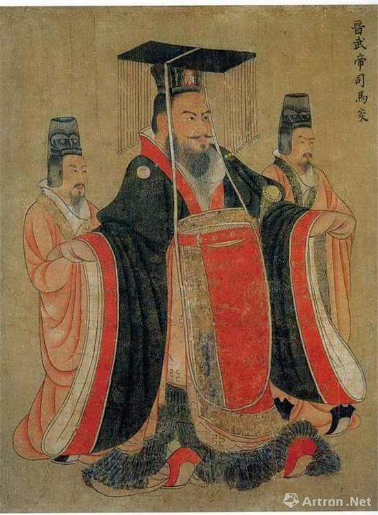 阎立本(传)《历代帝王图卷》(今藏美国波士顿美术馆)