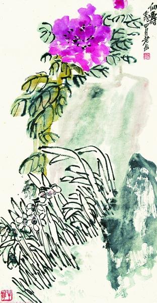 笔墨写神 气势磅礴——吴昌硕的文心画意