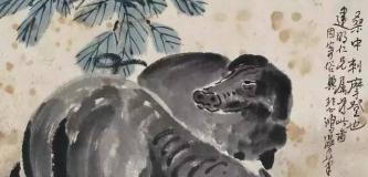 徐悲鸿画猪:气韵生动,憨态可掬