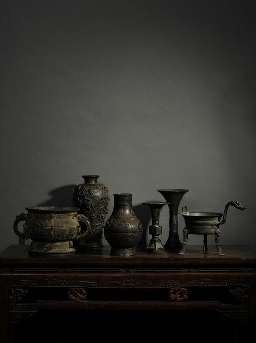 国营文物店旧藏铜器组合图