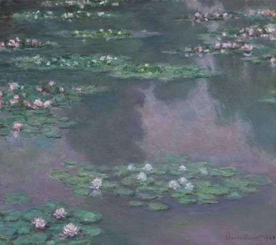 《睡莲》,1905年,莫奈