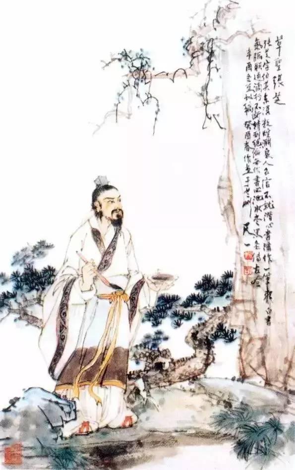 """让古代书法界为之癫狂:东汉张芝""""一笔书"""""""
