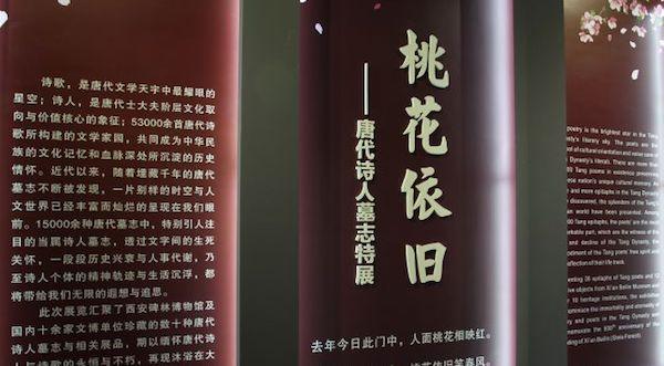 你见过王之涣韦应物墓志吗, 西安碑林展出大量唐代诗人墓志