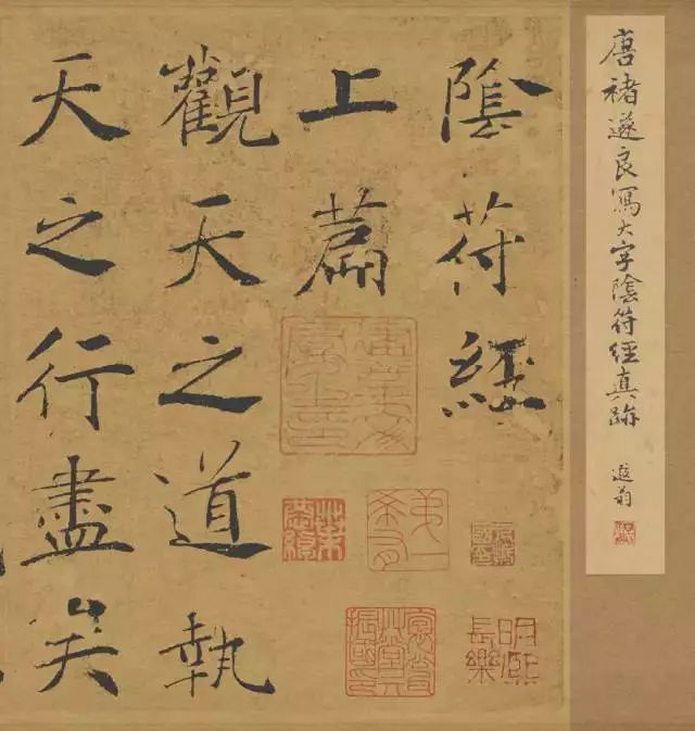 笔法最丰富的唐楷《大字阴符经》被讲透了!