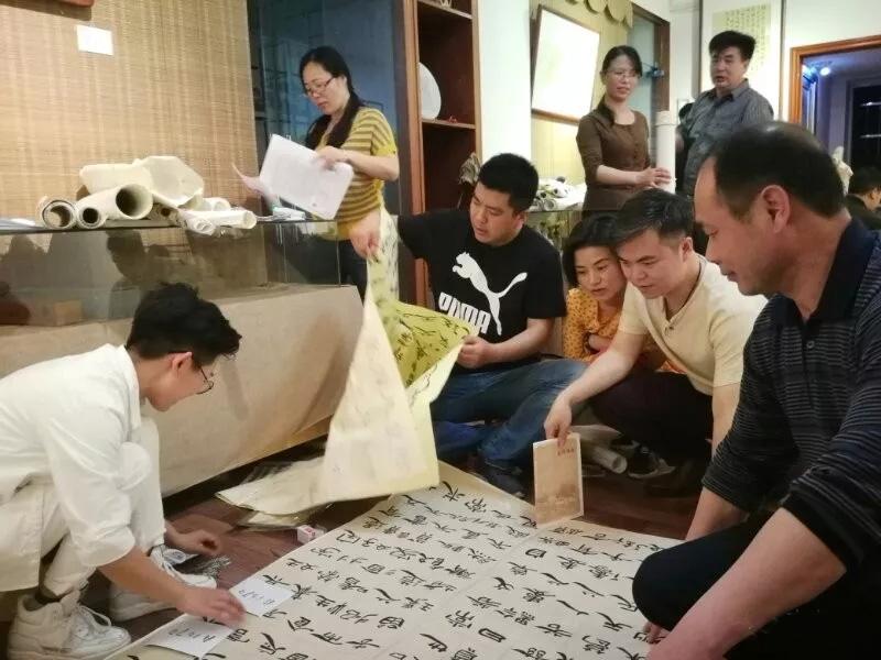 江西省第十一届临帖展收稿登记工作结束