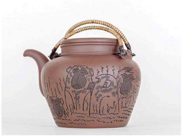 展讯|黄永玉的紫砂壶
