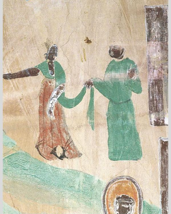 七夕里的敦煌壁画:坐看牵牛织女,只羡鸳鸯不羡仙