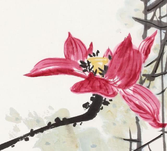 潘天寿绘画欣赏