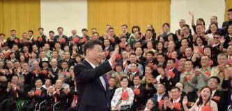 """中国""""最励志书法家""""羊晓君接受习总书记接见!"""