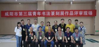 咸阳市第三届青年书法篆刻展获奖入展名单
